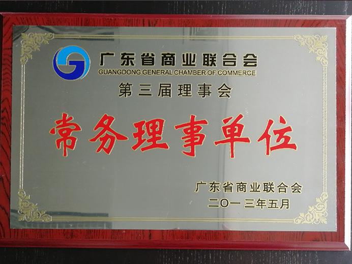 广东省商业联合会常务理事单位